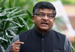 Ravi Shankar Prasad - India TV
