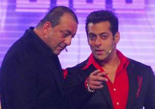 Sanjay Dutt and Salman Khan - India TV