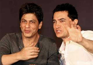 Shah Rukh and Aamir had a 'Khantastic' night...