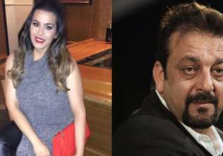 Sanjay Dutt and Trishala - India TV