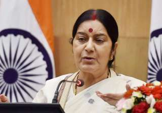 Sushma Swaraj speaks to father of Sikh man shot...
