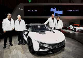 Tata Motors unveils sports car Tamo Racemo at...