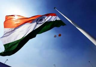 The Tricolour on India's tallest mast was...