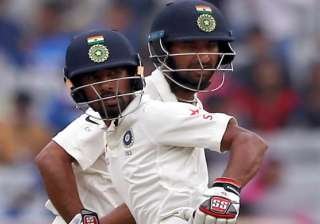 Aus Test Day Cheteshwar Pujara Wriddhiman Saha - India TV