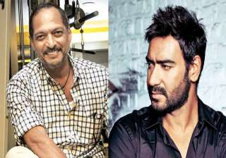 Ajay Devgn and Nana Pateka - India TV