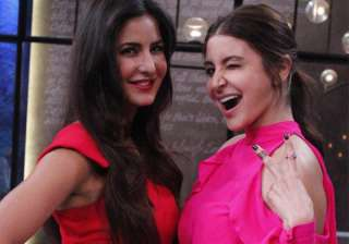 Katrina Kaif and Anushka Sharma - India TV