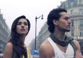 Disha Patani and Tiger Shroff - India TV