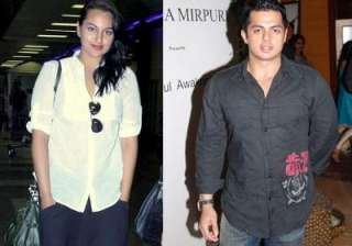 Sonakshi Sinha and Bunty Sajdeh - India TV