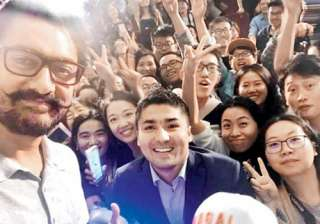 Aamir Khan in China - India TV