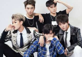 popular 'Boy Band' in China is made up of...