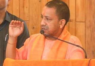 UP CM Adityanath speaks at an event in Lucknow -...