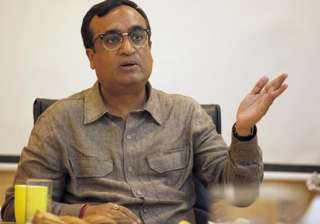 File pic of Delhi Congress president Ajay Maken ...