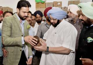 Amarinder Singh contradicts Congress on EVM...