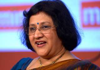 SBI chief Arundhati Bhattacharya - India TV