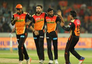 Bhuvneshwar steals the show with fifer in match...