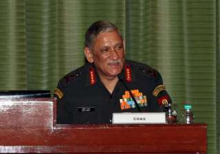 General Bipin Rawat at Army Commanders'...