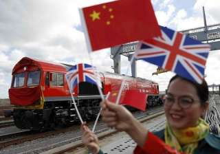First 'Silk Road' train from Britain to China...