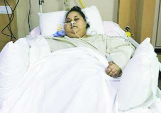 World's heaviest woman, Eman Ahmed is slimmer now