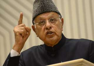 Farooq Abdullah - India TV