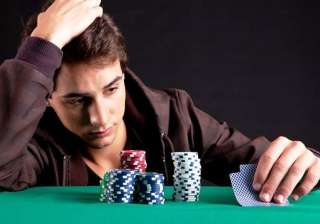 Gambling addicts may fail to take risks in real...