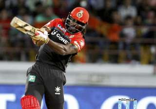 Chris Gayle signalled his return to form with a...