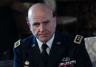 File pic of US National Security Adviser Herbert...