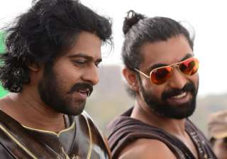 Baahubali actors Prabhas and Rana Daggubati - India TV