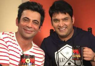 Sunil Grover and Kapil in a different shows –...