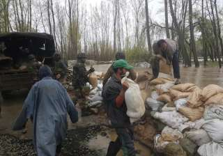 Incessant rains inundate low areas in Kashmir,...