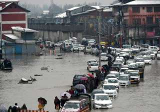 Flood in Srinagar