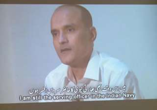 File pic of former Indian Navy officier Jadhav -...