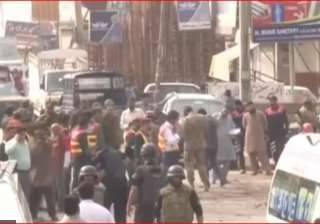 Lahore bomb blasts - India TV