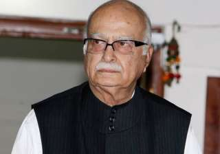 File pic of BJP leader LK Advani - India TV