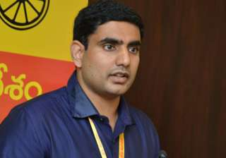 Chandrababu Naidu's son Lokesh inducted in AP...