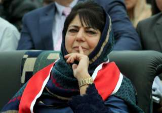 Mehbooba Mufti asks Pakistan to stop supporting...