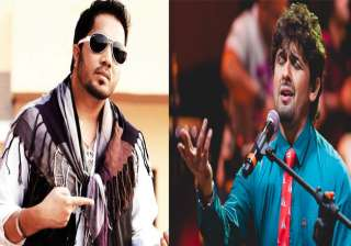 Mika Singh slams Sonu Nigam for his Azaan remark - India TV