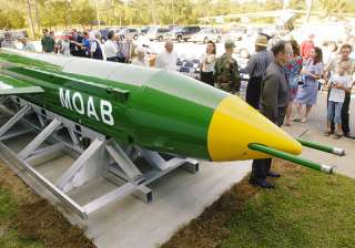 MOAB weapon - India TV