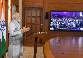 PM Modi addressing the 50th year celebrations of...
