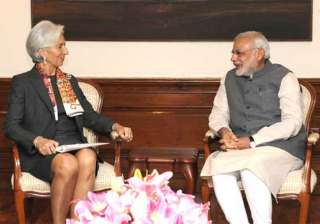 Narendra Modi, Modi Government, IMF Chief - India TV