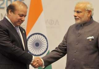 File pic. Pakistan PM Nawaz Sharif and Indian PM...