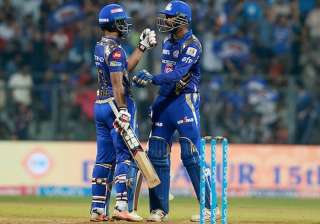 IPL 2017: Mumbai Indians vs Sunrisers Hyderabad...