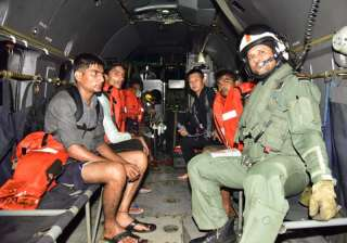 Navy rescues four from tugboat off Mumbai coast -...