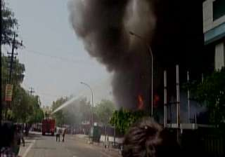 Six dead as massive fire breaks out at LED...