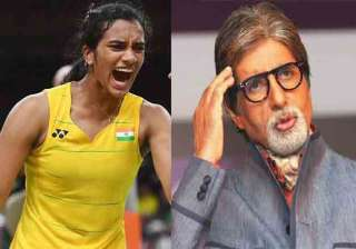 B-Town celebs congratulate P V Sindhu for making...