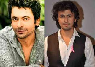 Sonu Nigam and Sunil Grover - India TV