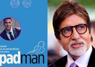 Confirmed! Amitabh Bachchan to appear in 'Padman' - India TV