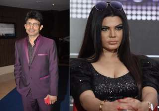 Rakhi Sawant gives an OPEN challenge to KRK, and...