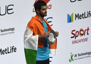 File pic of shuttler Sai Praneeth - India TV