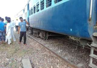 Two injured as Lucknow-bound Rajya Rani Express...