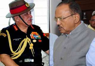 Army Chief meets NSA Ajit Doval to discuss J-K...